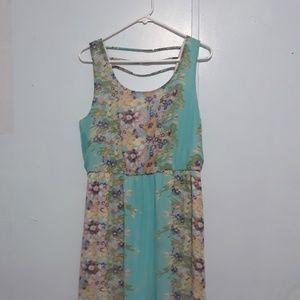 Cato Floral Maxi Dress Size 14